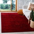 Safavieh Tunisia Red/ Orange Rug (6' 7 x 9' 2)