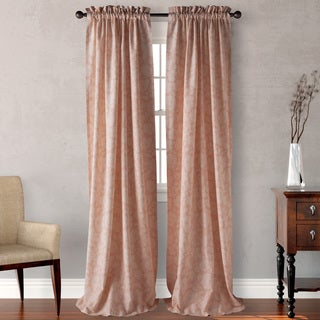 Tommy Bahama Gardner's Bay Coral Curtain Panel (Pair)