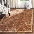 Safavieh Florenteen Rust/ Ivory Rug (6' x 9')
