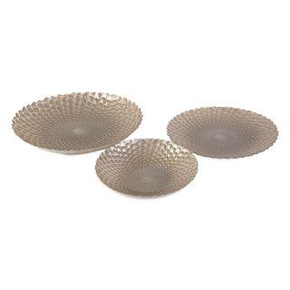 Cucine Glass Platters - Set of 3
