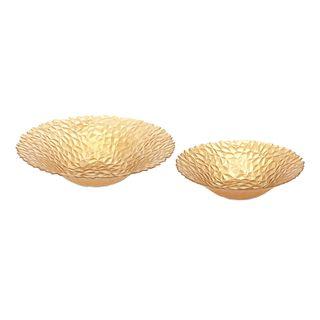 Celebration Glass Bowls - Set of 2