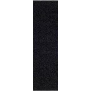 Safavieh Athens Shag Black Rug (2' 3 x 8')