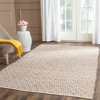 Safavieh Hand-Woven Cape Cod Natural Cotton Rug (6' x 9')