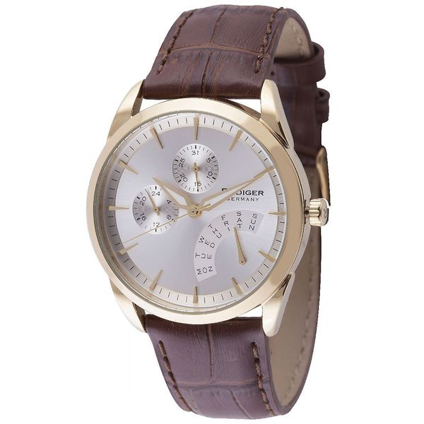 Rudiger Mens Hamelin Leather calfskin Brown Watch
