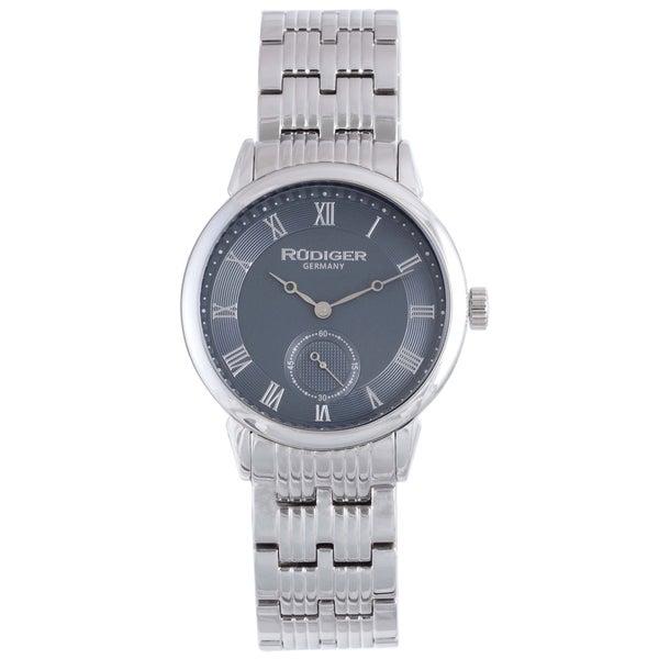 Rudiger Mens Leipzig Stainless Steel Silver Watch