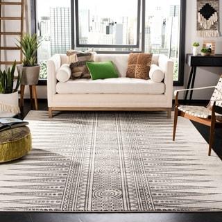 Safavieh Evoke Ivory/ Grey Rug (6' 7 Square)