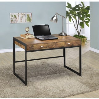 Millenial Collection Industrial Finish Study Desk