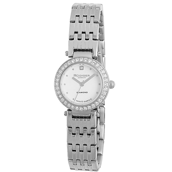 Rudiger Womens Essen Stainless Steel Silver Watch