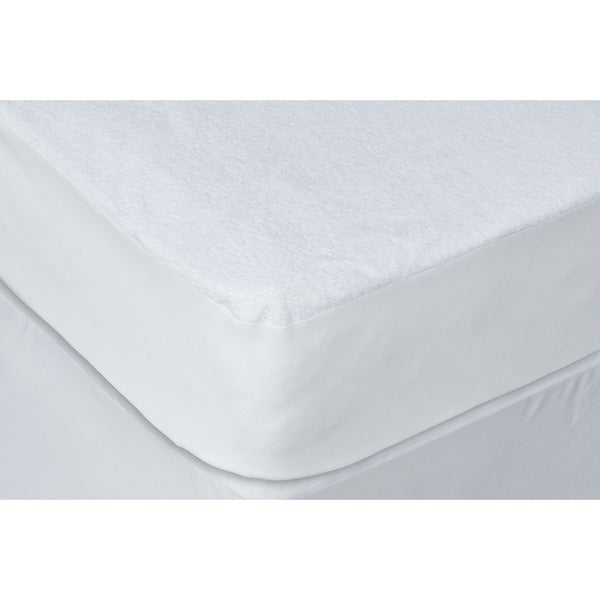Waterproof Terry Fabric Hypo-Allergenic Polyster Mattress Protector