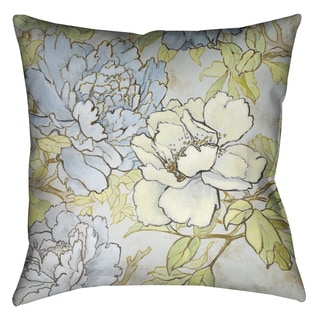 Laural Home Peony Garden II Decorative 18-inch Pillow