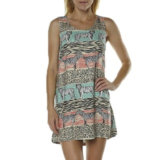 Minkpink Safari Adventure Jungle Print Tank Dress