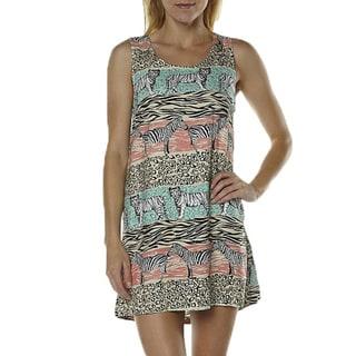Minkpink Safari Adventure Jungle Print Tank Dress