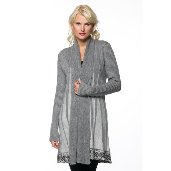 High Secret Women's Knit Printed Open Front Cardigan 18248007