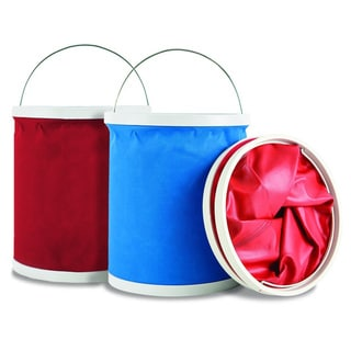 Maxkin Fully Collapsible Folding Buckets (Set of 2)