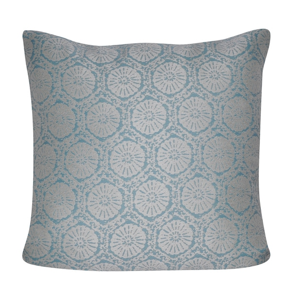 Loom and Mill 22 x 22-inch Stamped Decorative Pillow