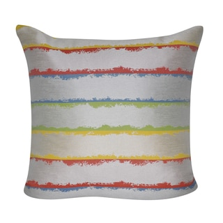 Loom and Mill 22 x 22-inch Hazy Stripes Decorative Pillow