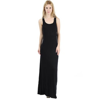 Jed Women's Soft Scoop Neck Tank Summer Maxi Dress