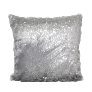 Loom and Mill 22 x 22-inch Faux Fur Decorative Pillow