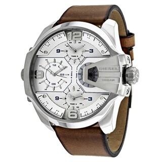 Diesel Men's DZ7374 Chief Round Brown Strap Watch