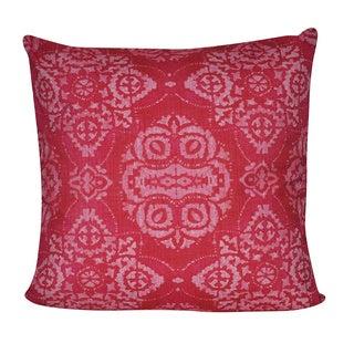 Loom and Mill 22 x 22-inch Batik Decorative Pillow