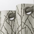 Branches Grommet Top Window Curtain Panel (Pair)