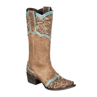 Lane Boots 'Kimmie' Women's Leather Cowboy Boot