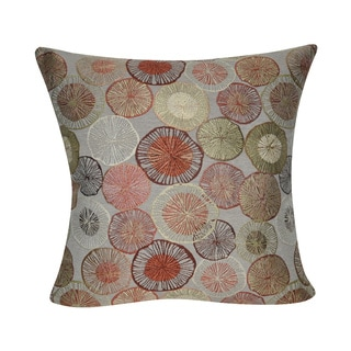 Loom and Mill 22 x 22-inch Circles Decorative Pillow