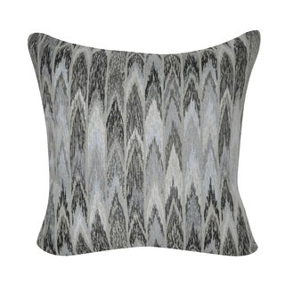 Loom and Mill 22 x 22-inch Ikat Decorative Pillow