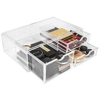 Acrylic X-Large 3 Drawer Makeup Organizer