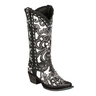 Lane Boots 'Robin' Women's Leather Cowboy Boot