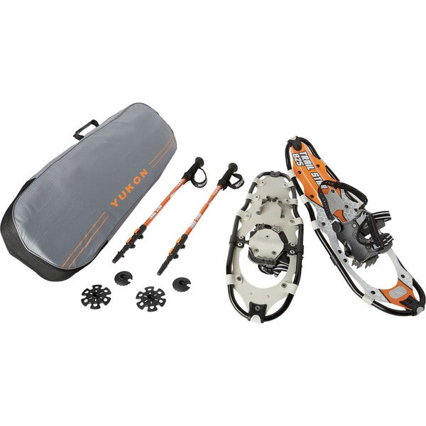 Yukon Charlies Men's Trail Star Advanced Snowshoe Kit