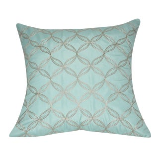 Loom and Mill 21 x 21-inch Circles Decorative Pillow