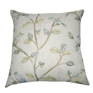 Loom and Mill 20 x 20-inch Bird Decorative Pillow