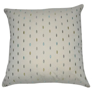 Loom and Mill 20 x 20-inch Polka Dot Decorative Pillow