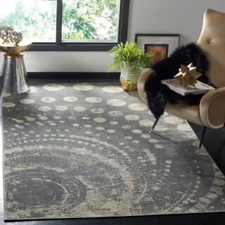 Safavieh Constellation Vintage Light Grey/ Multi Viscose Rug (6' 7 x 9' 2)