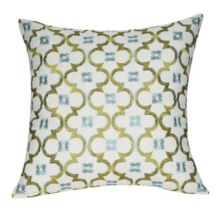 Loom and Mill 21 x 21-inch Damask Decorative Pillow