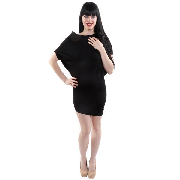 Hadari Women's Petite Asymmetrical Fashion Tunic (One Size)