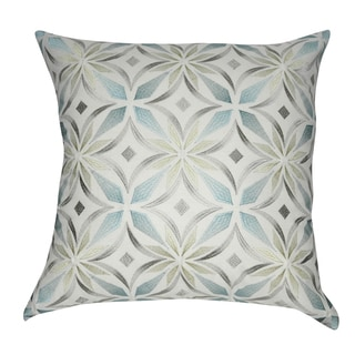 Loom and Mill 20 x 20-inch Floral Decorative Throw Pillow