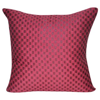 Loom and Mill 22 x 22-inch Checkered Decorative Pillow