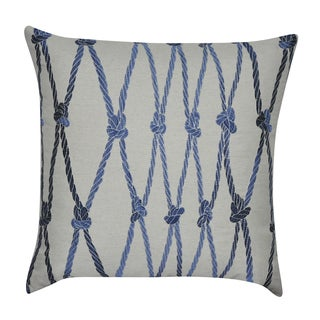 Loom and Mill 22 x 22-inch Ropes Decorative Throw Pillow