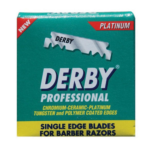 Derby Professional Single Edge Razor Blades (100 Count)