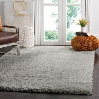 Safavieh Indie Shag Grey Polyester Rug (6' 7 x 9' 2)