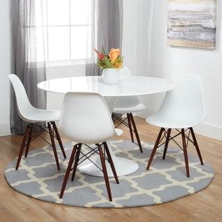 Vortex Side Chair with Walnut Legs (Set of 4)