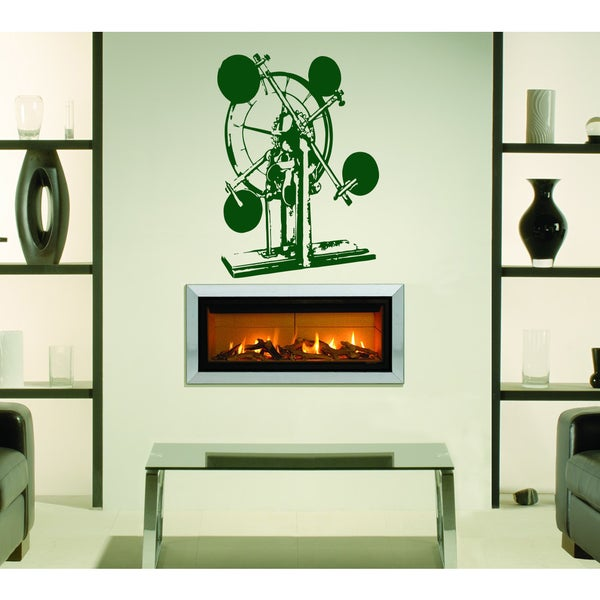 Perpetual motion Wall Art Sticker Decal Green