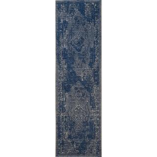 Safavieh Palazzo Light Blue/ Blue Rug (2' x 7' 3)