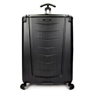 Traveler's Choice Silverwood 30-inch Polycarbonate Hardside Spinner Upright Suitcase
