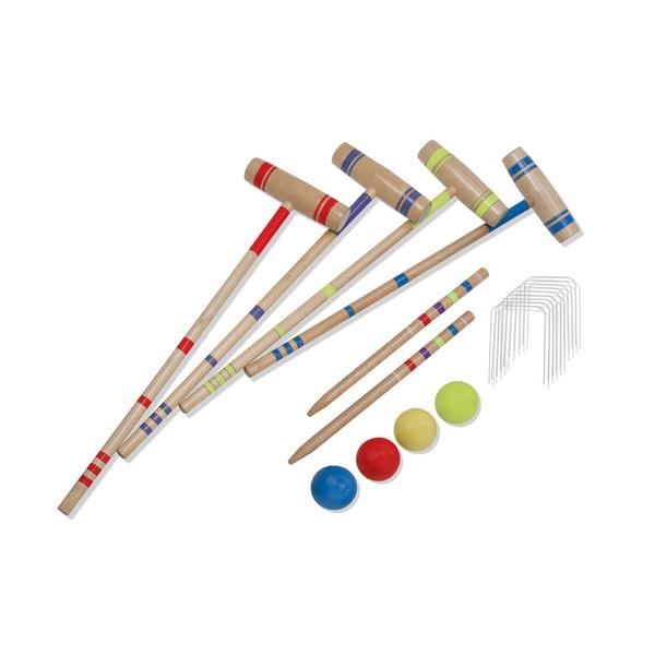 Halex Classic 4 Player Croquet Set