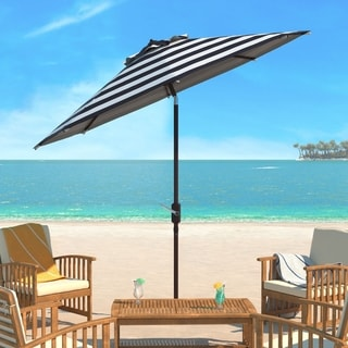 Safavieh Iris Fashion Line 9 Ft. Umbrella, Base Not Included