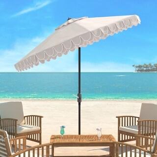 Safavieh Elegant Valance 9 Ft. Umbrella