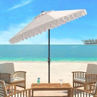 Safavieh Elegant Valance 9 Ft. Umbrella, Base Not Included